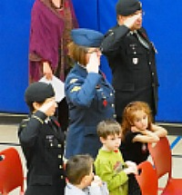 Parents @ CDPS Remembrance Day Ceremony